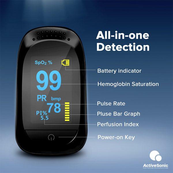 ActiveSonic เครื่องวัดออกซิเจนในเลือด AOM-001_1