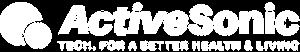 ActiveSonic Logo Original White Small